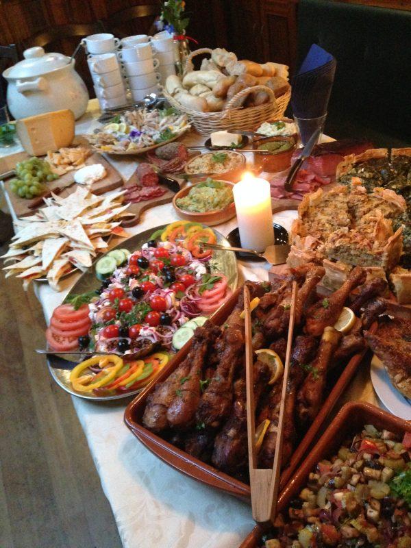 catering Tapa's Gouden Vloot Zeilreizen