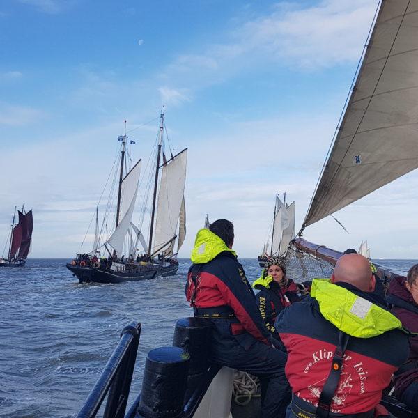 Brandarisrace Waddenzee Terschelling