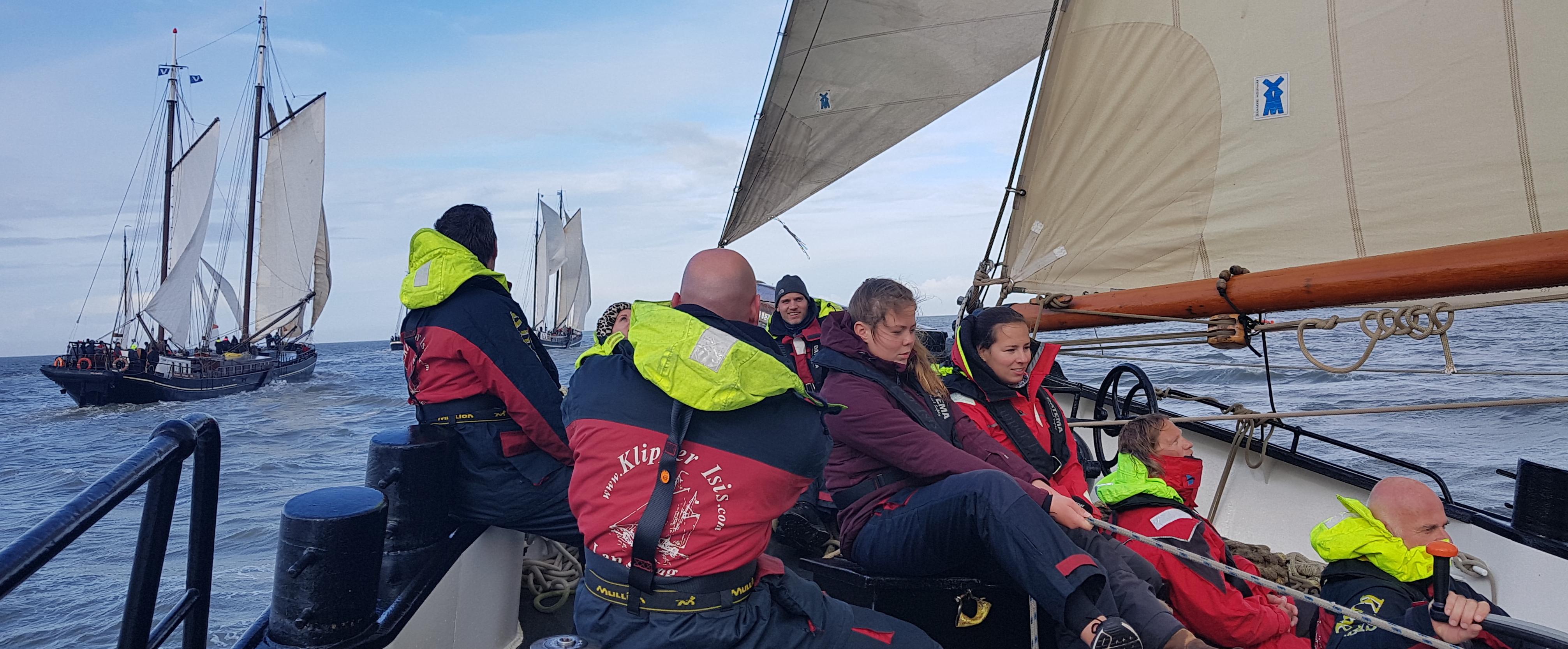 Brandarisrace wedstrijdzeilen@Gouden vloot zeilreizen