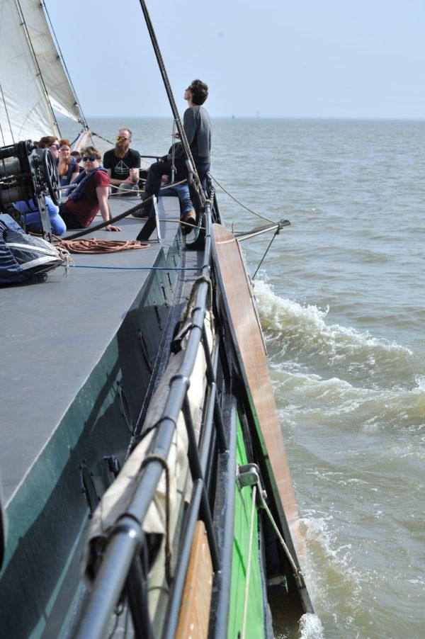 Segeln entlang der Waddenzee @Gouden Flotte Sailing Trips