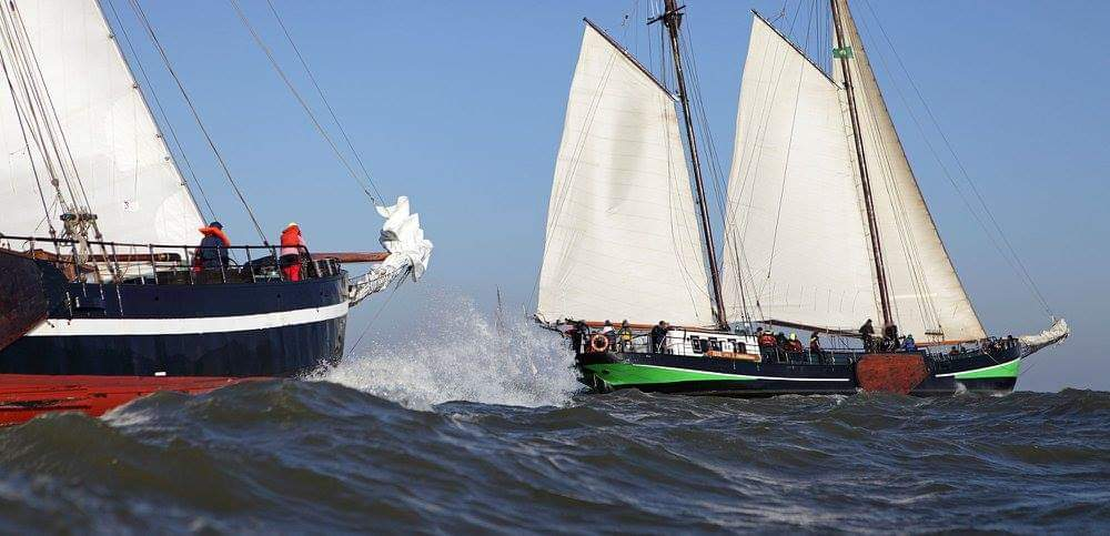 Klipperrace wedstrijdzeilenr@Gouden vloot zeilreizen