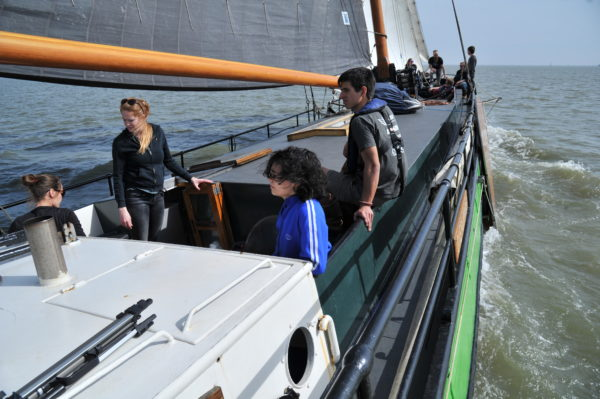 Segeln entlang der Waddenzee @Gouden Vloot Sailing Trips