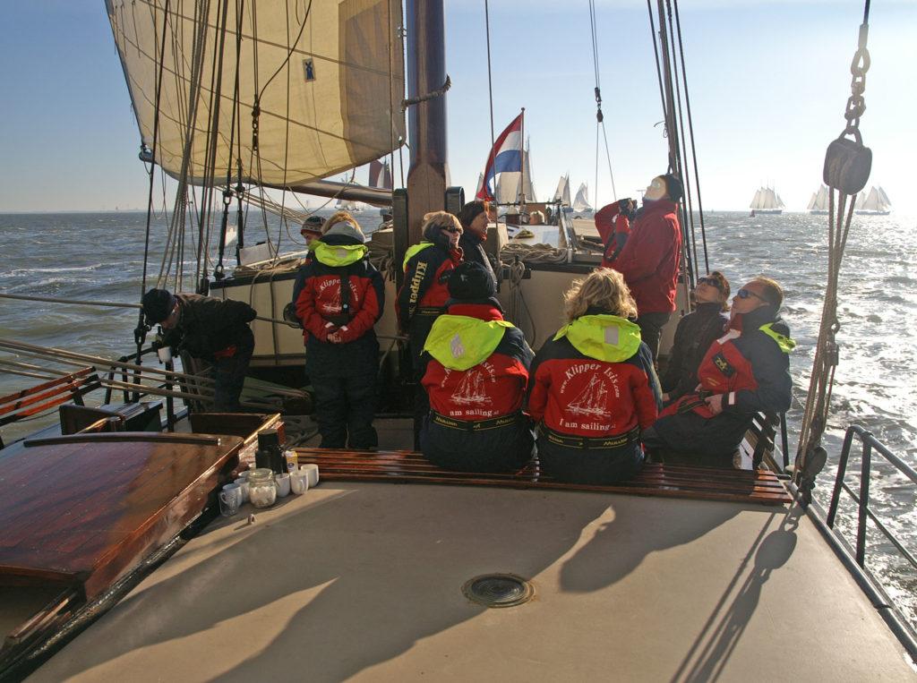 Zeilen met groep Waddenzee @Gouden Vloot Zeilreizen