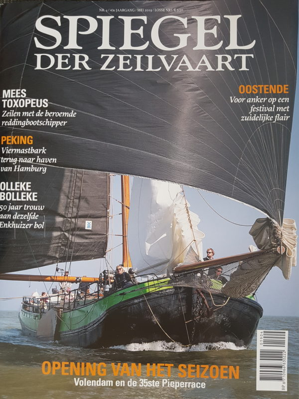 Spiegel der Seeschifffahrt Overwinning Sailing Waddenzee @Gouden Flotte Sailing Trips