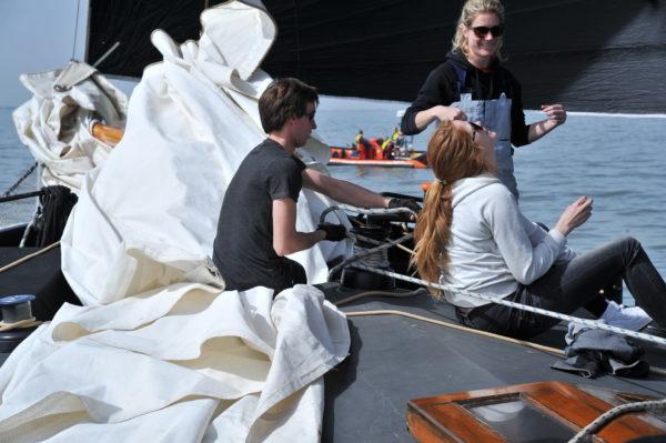 Gruppendegeln@Gouden Flotten-Segeltörns