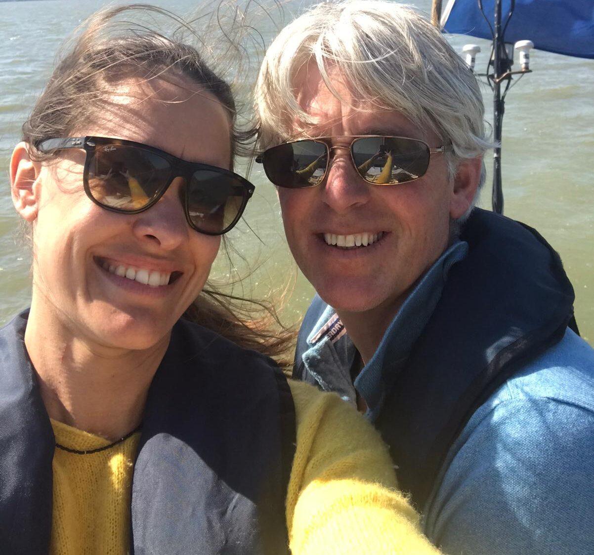 Schipperspaar Gouden Vloot zeilreizen