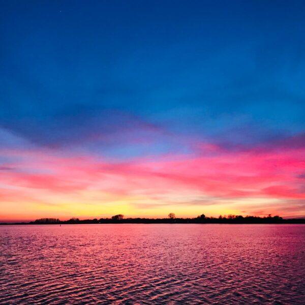 Zonsondergang@ Gouden Vloot Zeilreizen